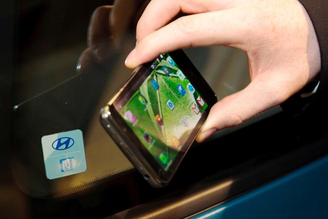 2015年手机将取代金属车钥匙