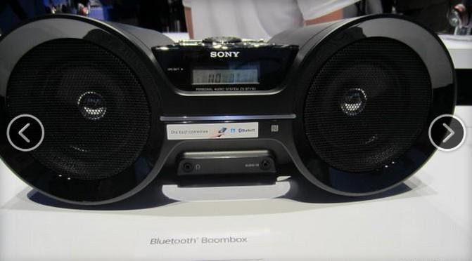 Boomboxes以及其它音乐播放器