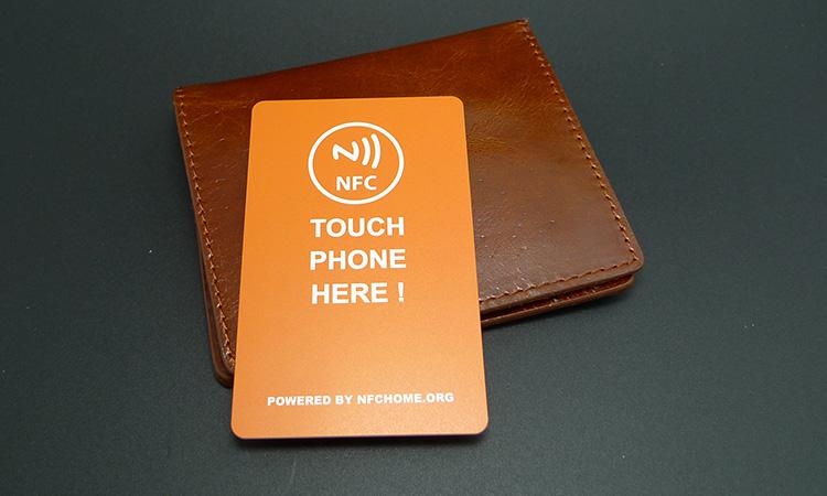 DIY一张带自己头像的超级电子名片(NFC名片)