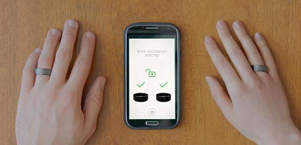 合二为一才能追剧的NFC承诺戒指